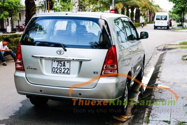thue xe 7 cho tai da nang - Toyota Innova