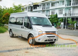 Cho thue xe ford transit 1