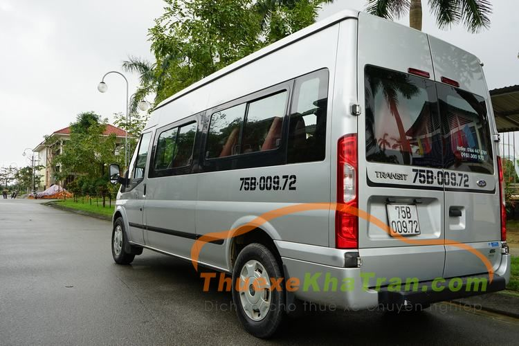 thue xe 16 cho ford transit 20