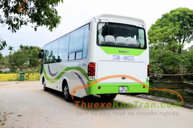 Kha Tran cho thue xe 29 cho isuzu samco 5