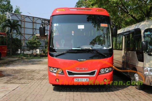 Kha Tran Cho thue xe 35 cho Isuzu Samco 2