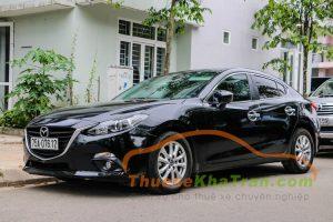 Thuê xe du lịch 4 chỗ Mazda 3 tại Đà Nẵng