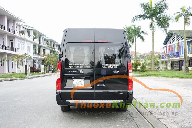 xe limousine da nang hoi an