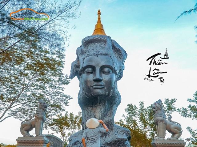 đường đi chùa thiền lâm huế