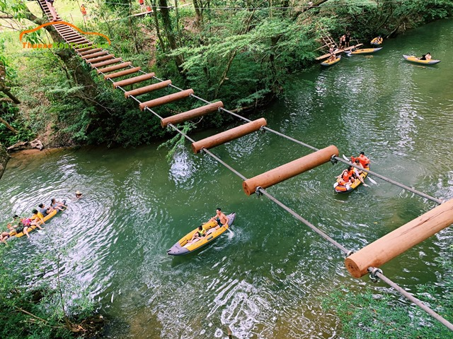 OZO TREETOP PARK – Công viên trò chơi trên cây lớn nhất miền Trung