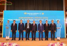 Vietnam Airlines đã tổ chức Lễ công bố mở đường bay Bangkok – Đà Nẵng và Phuket – TP. Hồ Chí Minh