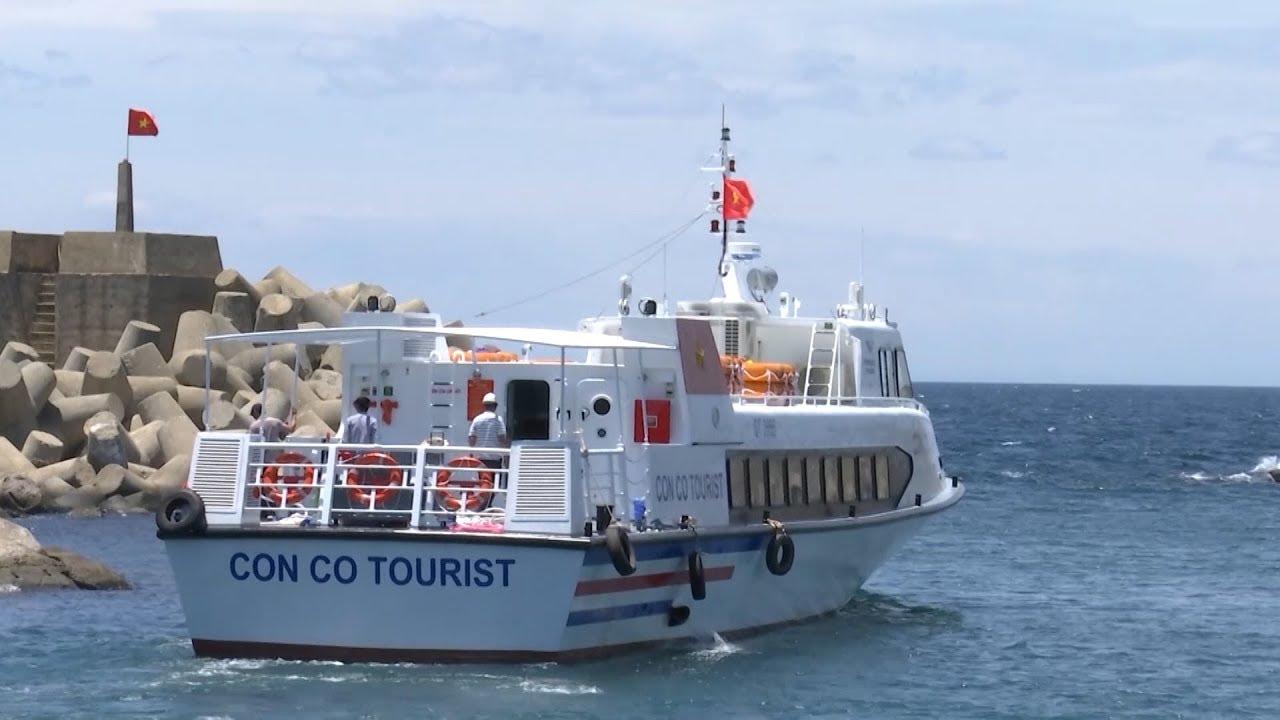 Tàu cao tốc ra đảo Cồn Cỏ