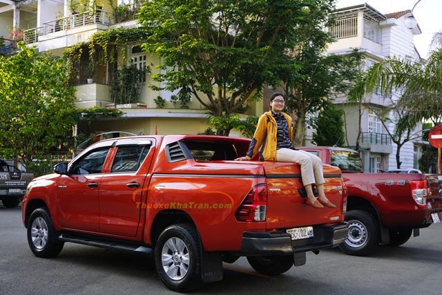 thuê xe bán tải 2 cầu tại quảng nam