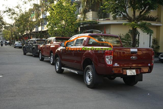 Thuê xe bán tải 2 cầu tại Huế