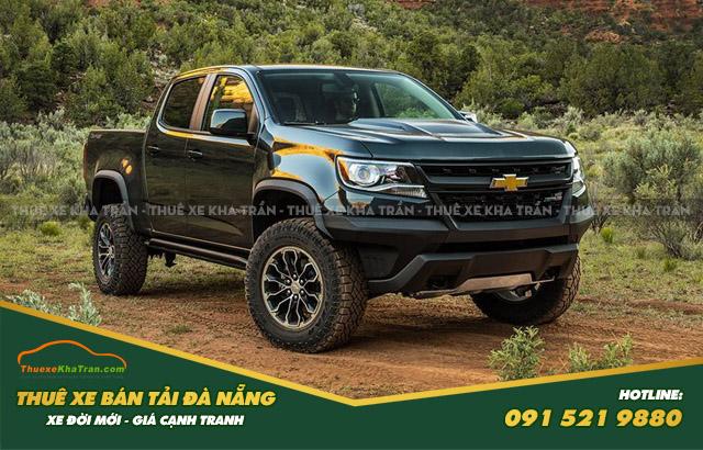 Xe bán tải CHEVROLET COLORADO trong thuê xe bán tải đà nẵng