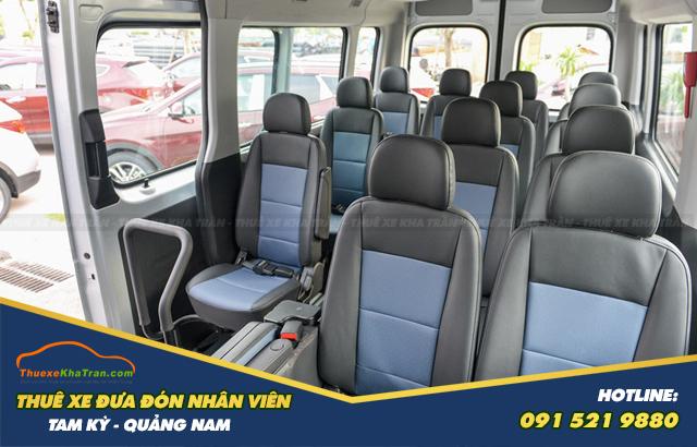 xe đưa đón công nhân Hyundai Solati