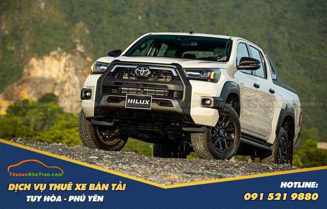 thuê xe bán tải giá rẻ tại phú yên Toyota Hilux