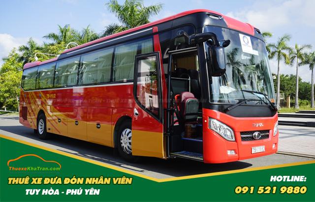 Thuê xe đưa đón nhân viên tại Phú Yên